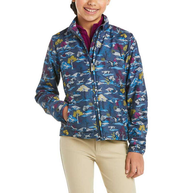 Ariat Kids' Laurel Insulated Jacket-Multi-XS image number null