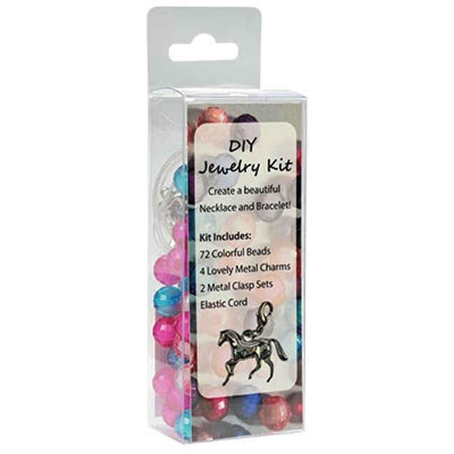 Kelley Equestrian DIY Charm Jewelry Kit - Pink image number null