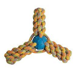 SnugArooz Knotted Dog Toy - Fling 'N Fun