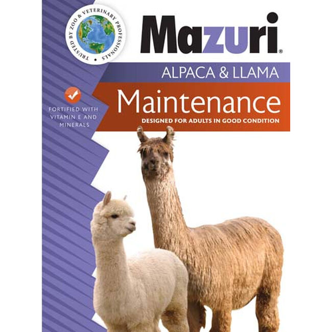 Mazuri Alpaca & Llama Maintenance Diet image number null