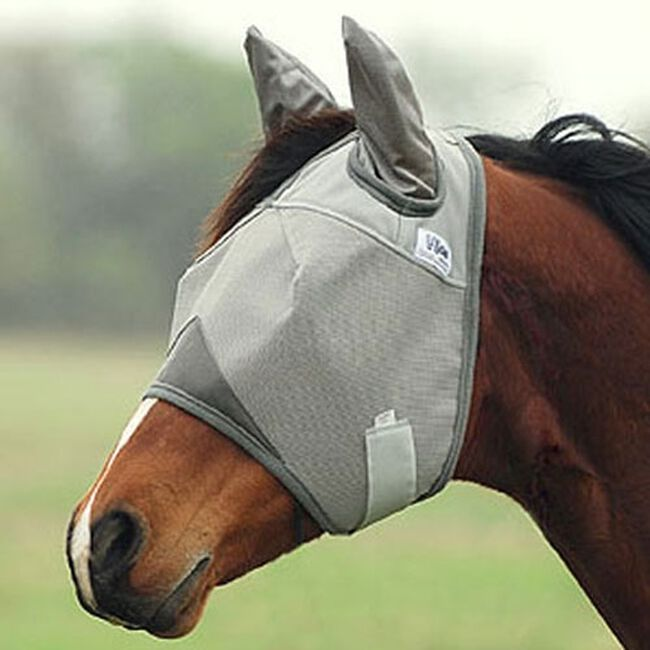 Cashel Crusader Standard Fly Mask with Ears image number null