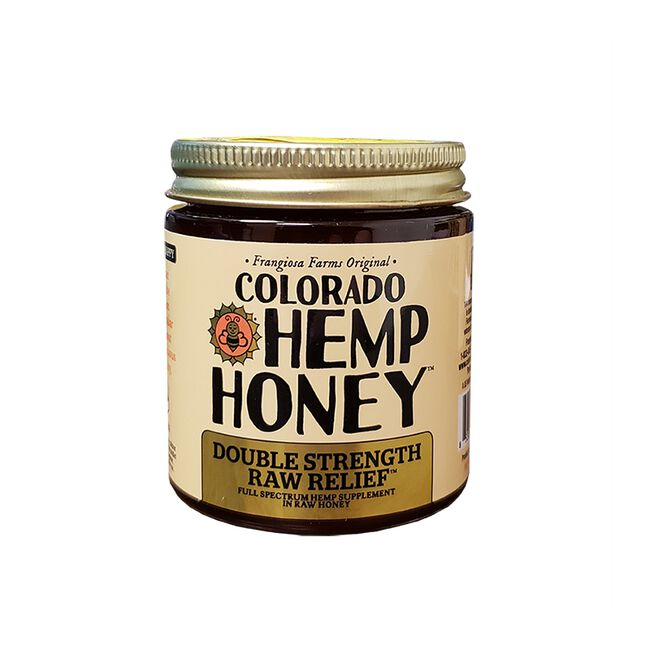 Colorado Hemp Honey for People & Pets - Double Strength Raw Relief - 6oz image number null