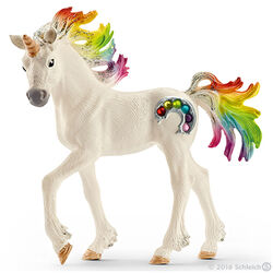 Schleich Rainbow Unicorn Foal