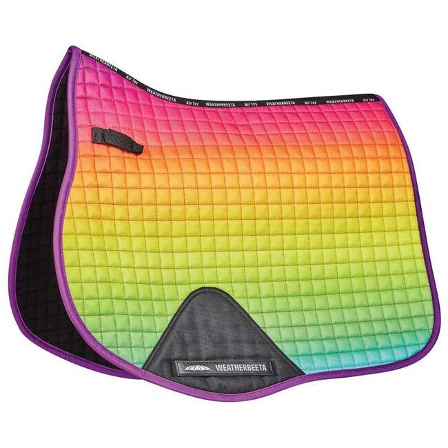 WeatherBeeta Prime Ombre All Purpose Saddle Pad - Rainbow Dream image number null