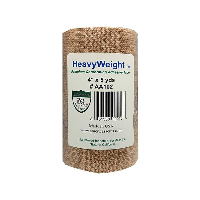 """America's Acres Heavyweight 4""""x5 Yards Adhesive Tape image number null"""