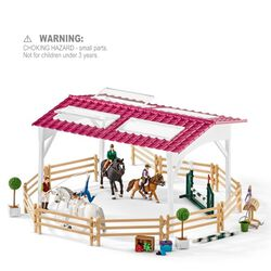 Schleich Riding School with Riders & Horses Kids' Toy