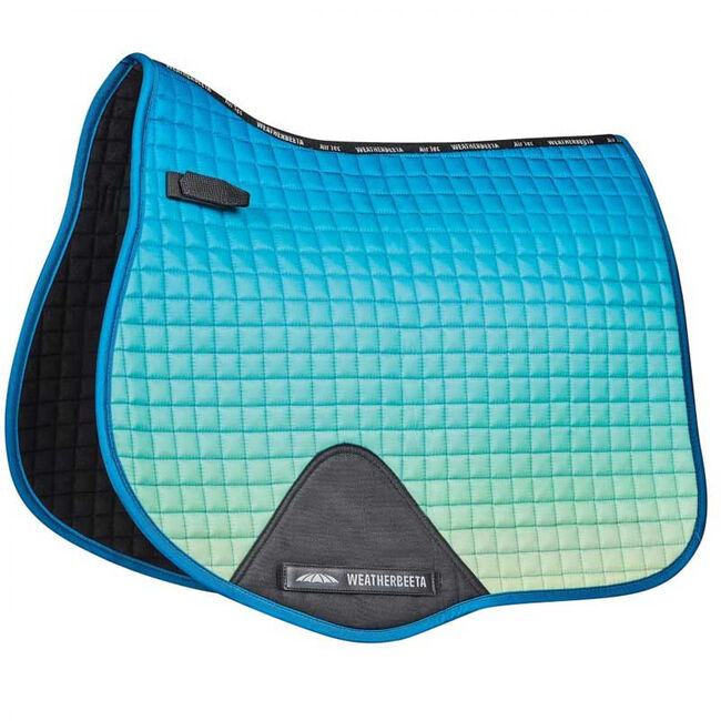 WeatherBeeta Prime Ombre All Purpose Saddle Pad - Oceans Reef image number null