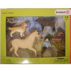 Schleich Western Riding Set Kids' Toy