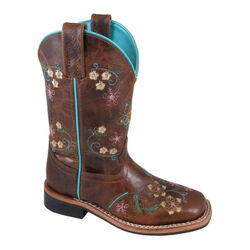 Smoky Mountain Floralie Youth Western Leather Boot