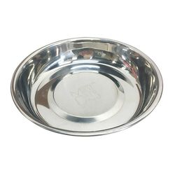 Messy Mutts Cat Bowl Stainless Steel