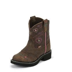 Justin Boots Girls' Esmerelda Brown Gypsy Western Boot