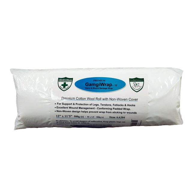 """America's Acres GamgiWrap 100% Wool Padding with Non-Woven Cover - 12"""" image number null"""