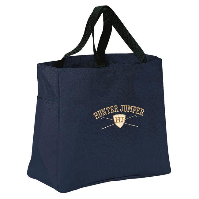 Stirrups Hunter/Jumper Shield Tote Bag image number null