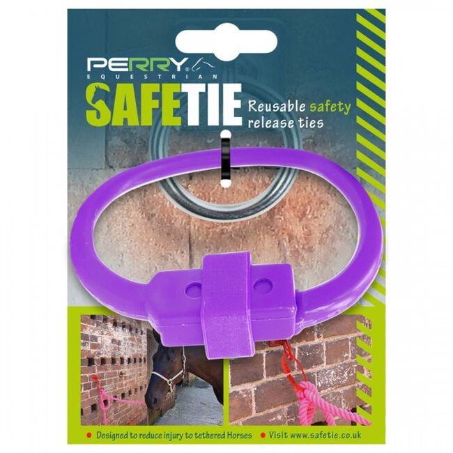 Perry Equestrian SafeTies - Purple image number null