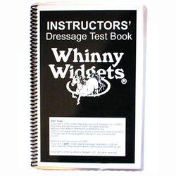Whinny Widgets Instructors Dressage Test Book