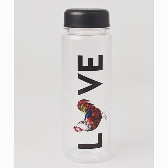Fluffy Layers Love Rooster Bottle image number null