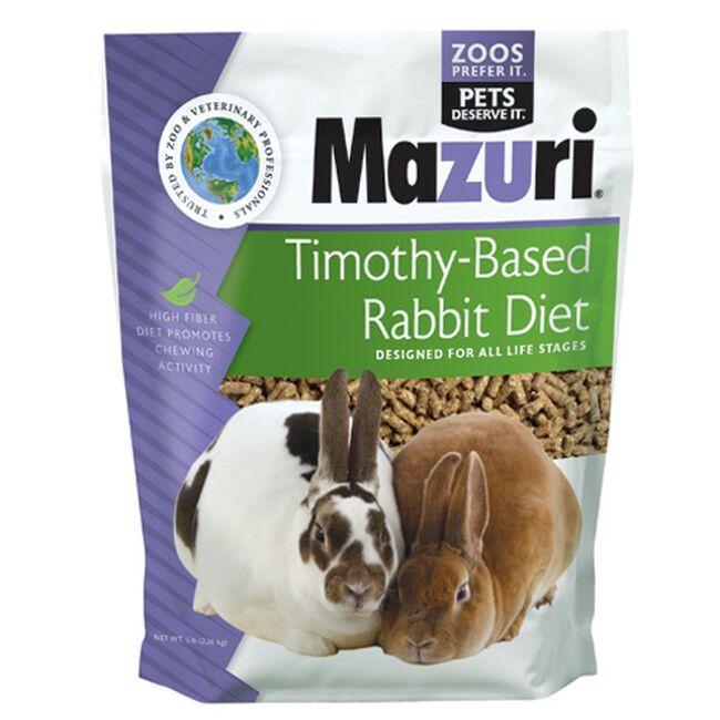 Mazuri Rabbit Diet Timothy  image number null