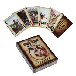 Rivers Edge Playing Card Wild West