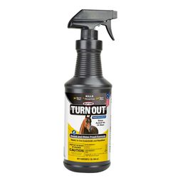Durvet TURN OUT Sweat & Waterproof Formula Insect Repellent for Equines & Dogs