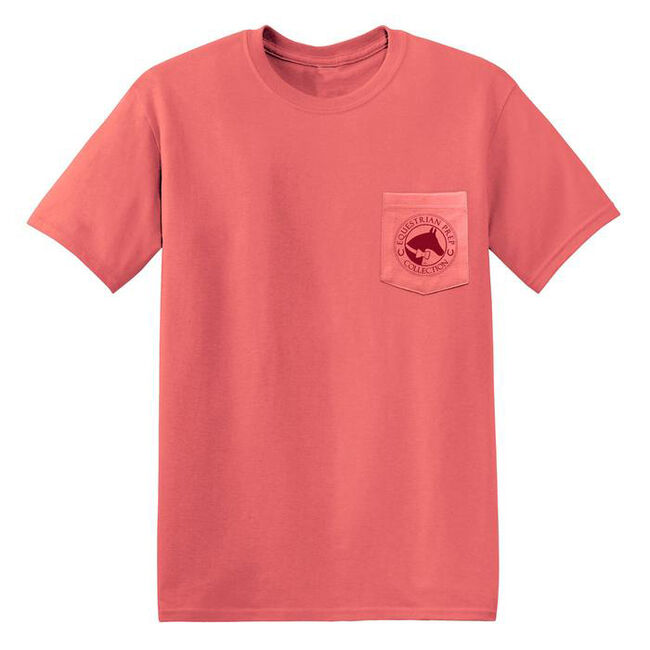 """Stirrups """"Blessed with a Great Horse"""" Short Sleeved Pocket Tee  image number null"""