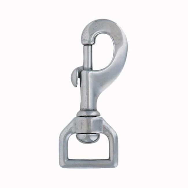Weaver Stainless Steel Flat Swivel Snap image number null