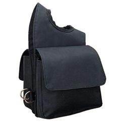 Weaver Nylon Pommel Bag Black