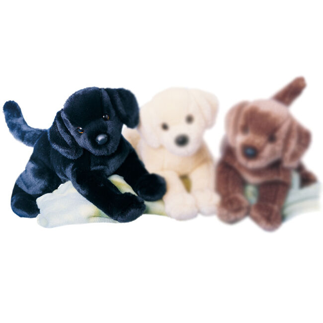 Douglas Chester Black Lab Plush Toy image number null