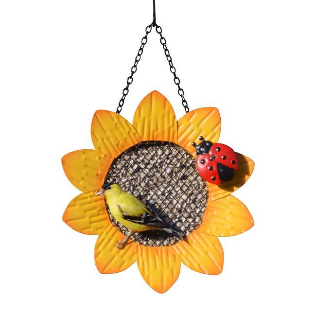 Sunflower Mesh Bird Feeder - Yellow image number null
