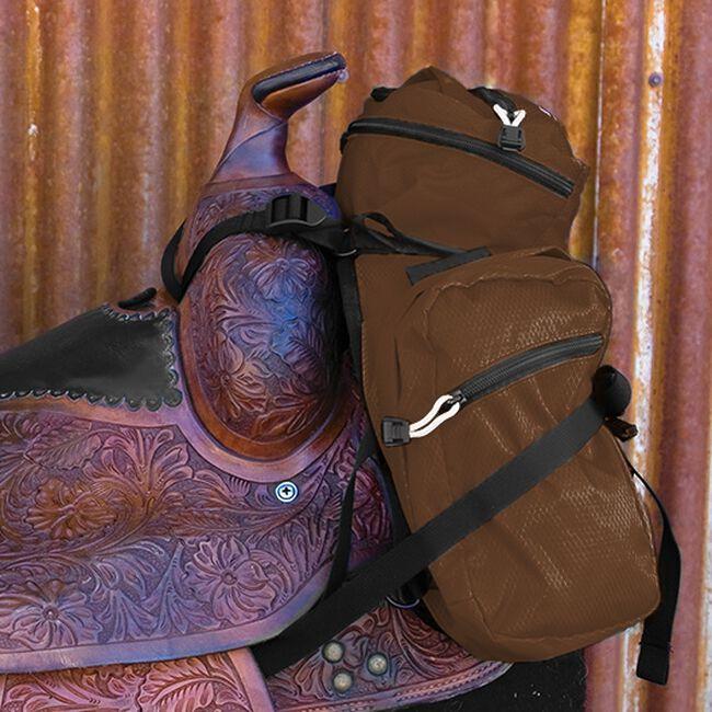 EasyCare Stowaway Pommel Packs - Brown image number null