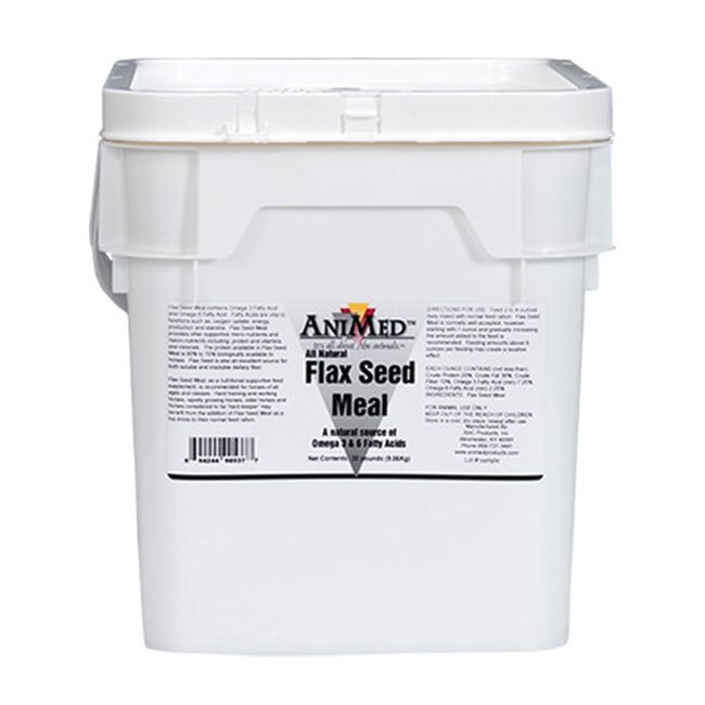Animed Flax Seed Meal 20 lb image number null