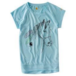 Carhartt Girls' Feathered Horse Tee Shirt