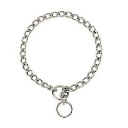 PDQ Super Heavy Weight Steel Dog Choke Chain Collar