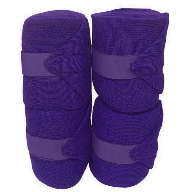 Jack's Acrylic Knit Stall Bandages - Purple image number null