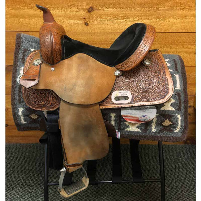 Used High Horse Mansfield Western Barrel Saddle image number null