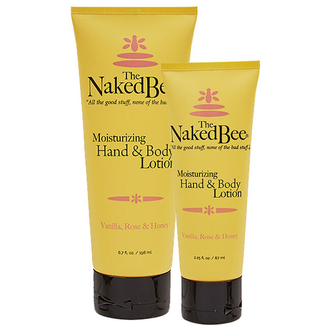 Naked Bee Vanilla Rose & Honey Lotion image number null