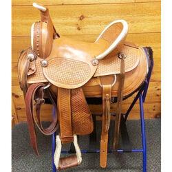 Used Doc Dasher Western Ranch Saddle