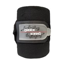 Eskadron Fleece Polo Bandages - Caviar Black