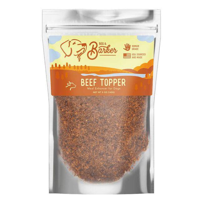 Beg & Barker Beef Topper 5oz image number null