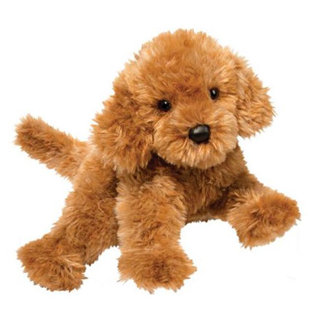 Douglas Addie Caramel Labradoodle Plush Toy image number null