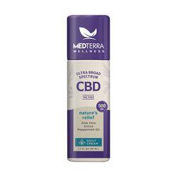 MedTerra CBD Wellness Nature's Relief Daily Cream 500mg