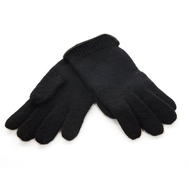 Janus Women's Design Wool 100% Wool Gloves - Black image number null