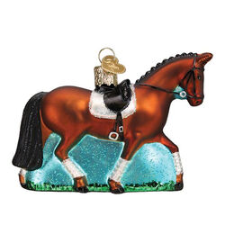 Old World Dressage Horse Ornament