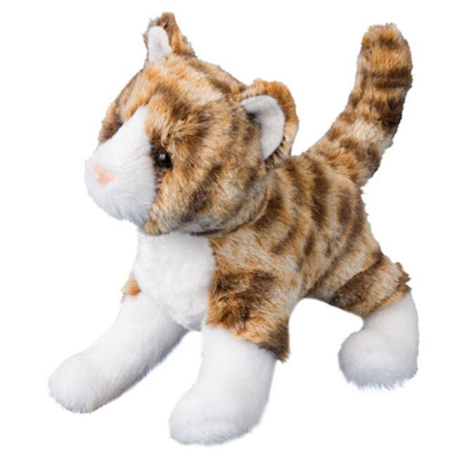 Douglas Sadie Tiger Stripe Cat Plush Toy image number null