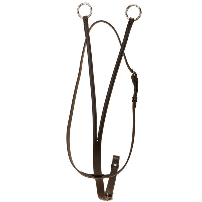 Tory Leather Running Martingale Black image number null
