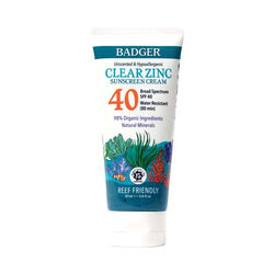 Badger Protect Land and Sea Clear Sunscreen SPF 40