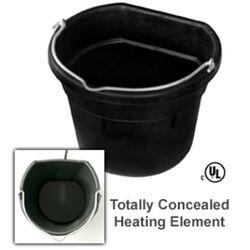 Farm Innovators 18 qt Heated Flat-back Bucket