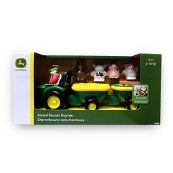 John Deere Animal Sounds Hay Ride Toy