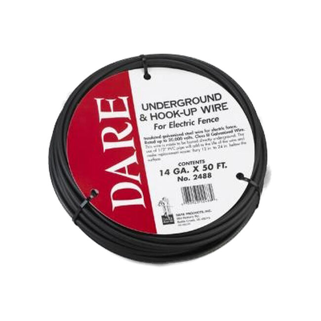Dare 50-FT Coil Underground & Hook-Up Wire image number null