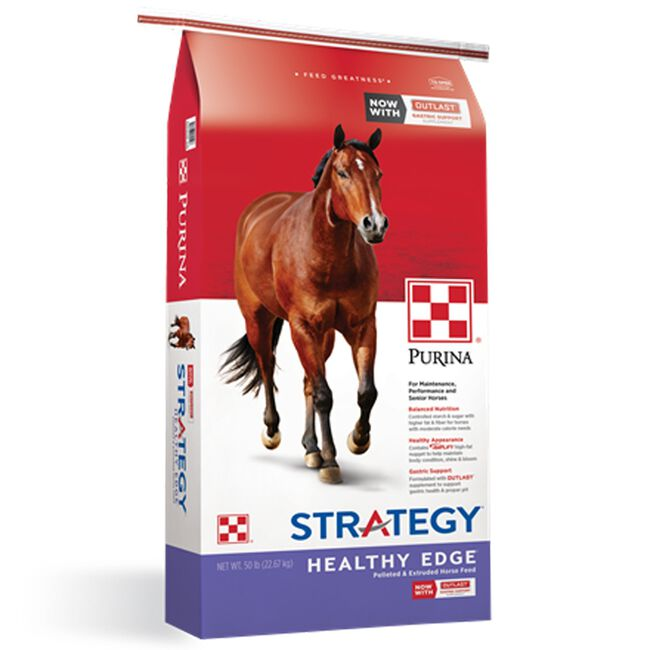 Purina Strategy Healthy Edge Horse Feed image number null