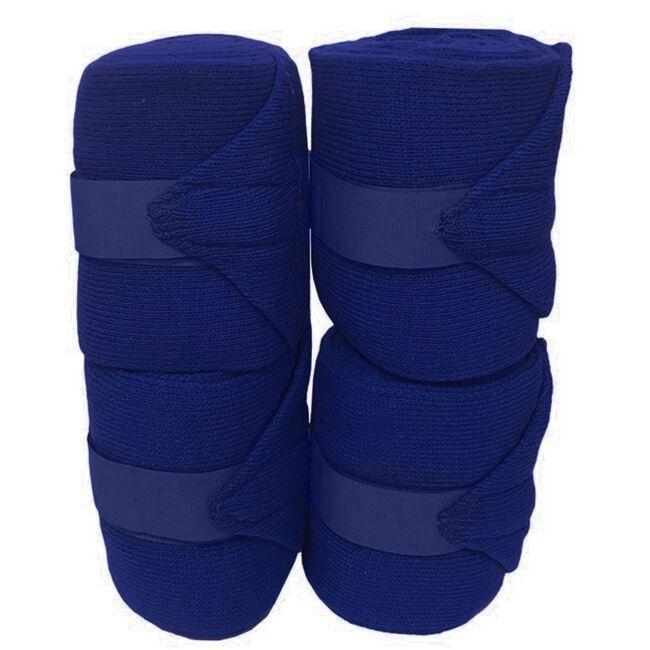 Jack's Acrylic Knit Stall Bandages - Royal Blue image number null